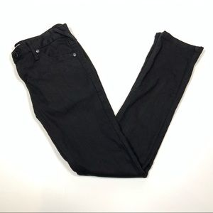 Free People Jeans Size 28 Black Low Rise EUC